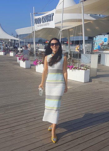 Сукня у смужку! Одеський морський флешмоб.