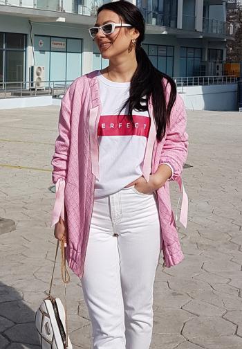 Рожевий блузон