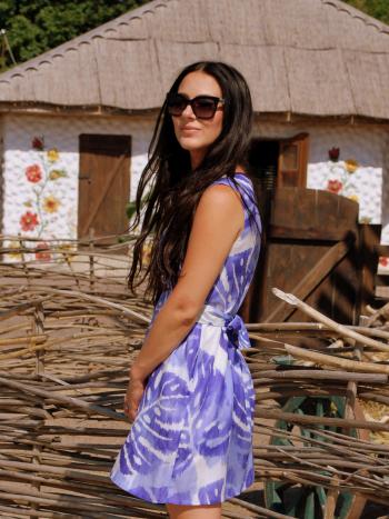 Сукня із зав'язками #хочувжурнал
