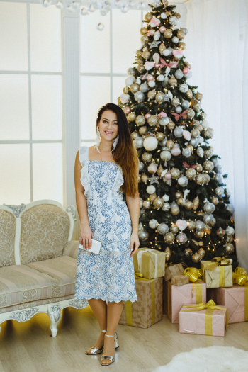 Шиємо новорічну сукню 1