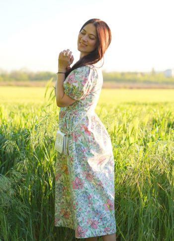 Сукня травнева