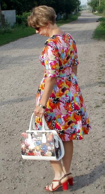 Сукня з втачним поясом 118_3/2015