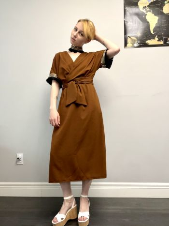 Сукня з запахом в стилі бохо