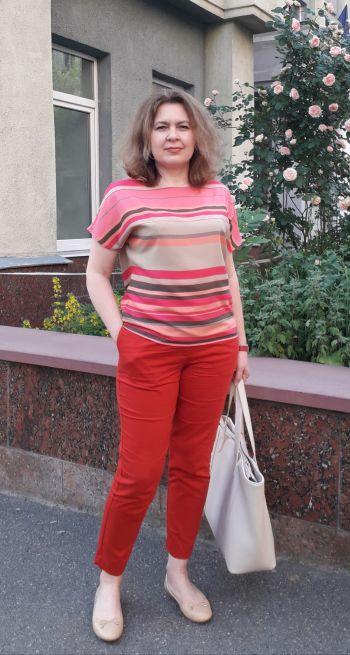 Улюблені червоні штани