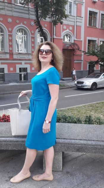 #Нетількивишиванка -лляна сукня