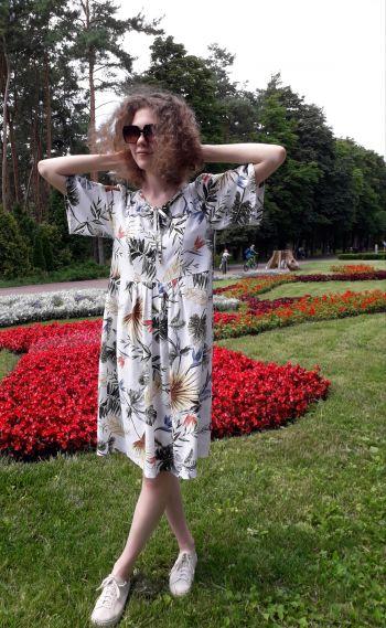 """Конкурс """"Новорічна Обкладинка"""" _лляна сукня"""