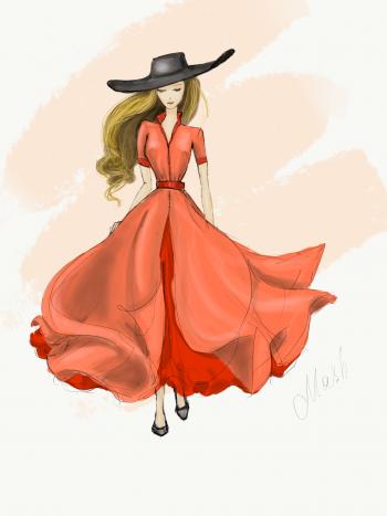 Максі-сукня для #мріядизайнера