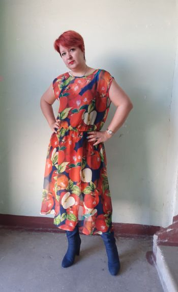 Сукня Прості яблука-модель 118 з 4/2020