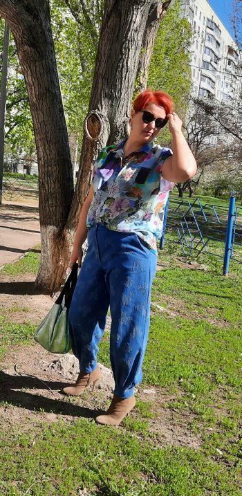 Літня блуза-сорочка