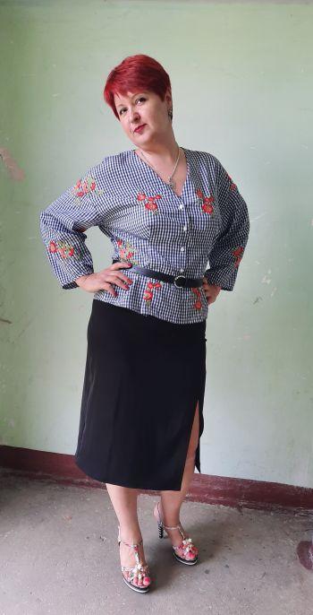 Травнева блуза 105А-5/2020