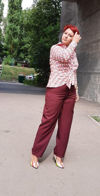 Вересневі брюки для плюсиків