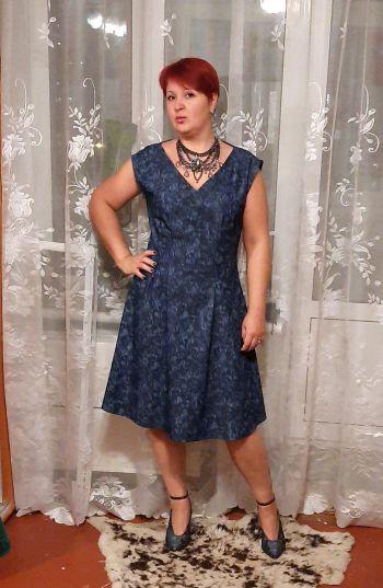 Сукня з деніму