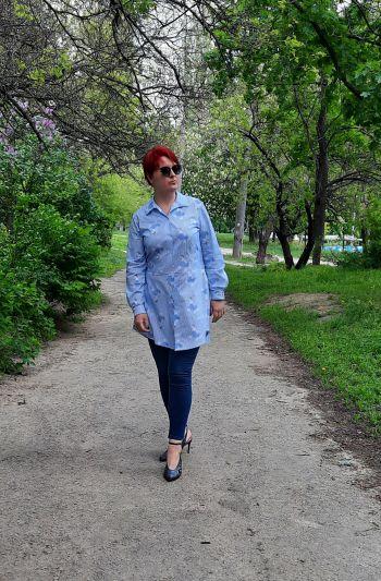 Сорочка з хвостиком