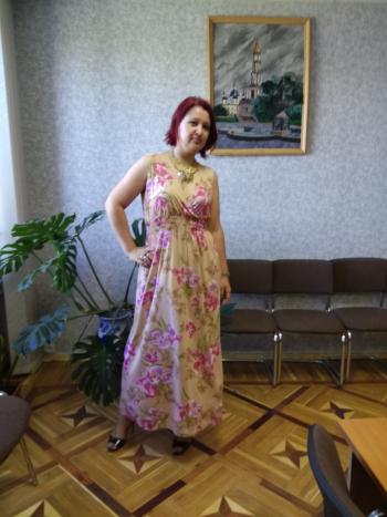 Сукня - орхідеі і ампір