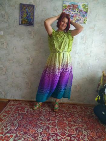 Сукня з градієнтом