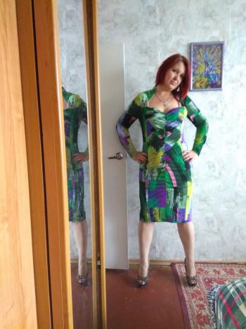 Сукня з драпіровкою