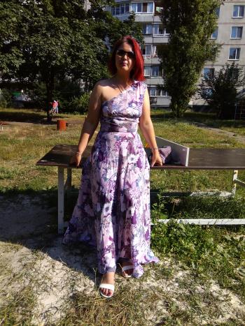 """Сукня """"Пурпурова симфонія"""""""