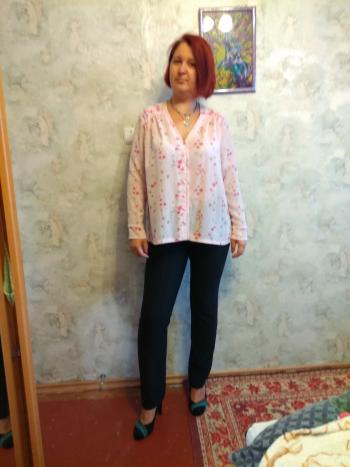 Блуза з марльовки