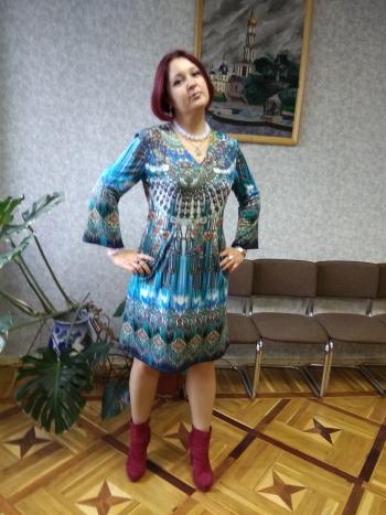 Сукня з нового номера 10/2017