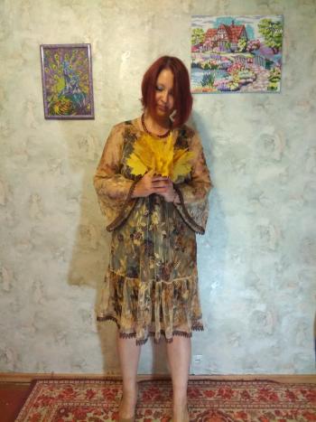Сукня з жовтневої обкладинки
