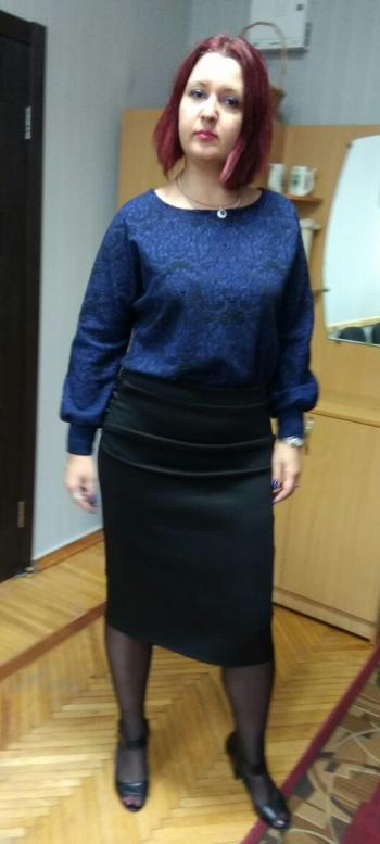Спрощена серпнева сукня