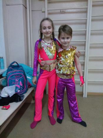 Танцювальні костюми Диско - мала група