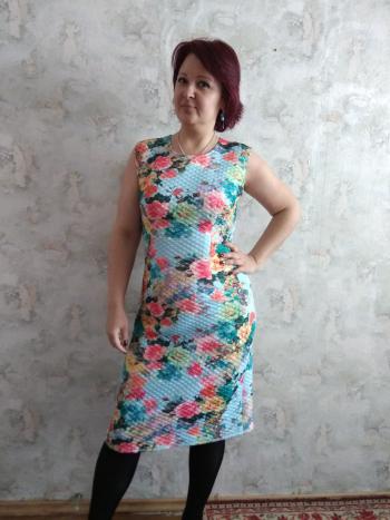 Стьобана сукня-футляр
