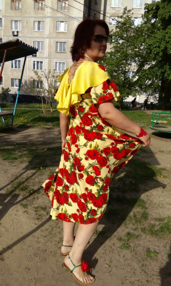 Крилатий травень - сукня модель 117