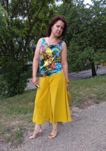 Червнева спідниця-брюки
