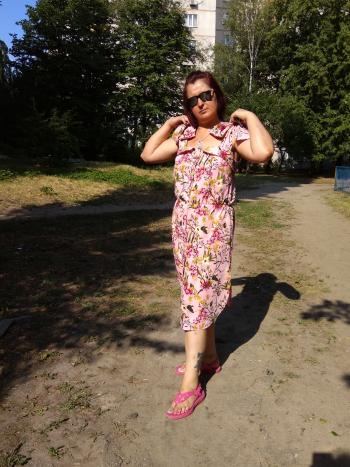 Сукня з липневої обкладинки