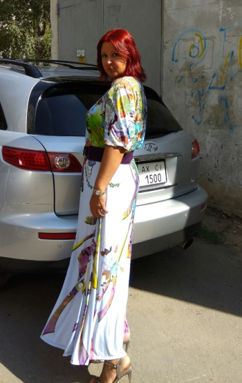 Сукня за улюбленою викрійкою