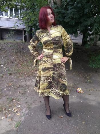 Невдалий жовтень. Сукня