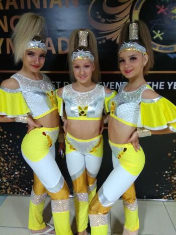 Колекція костюмів для танцювальних змагань