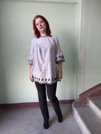 Блуза модель 112 з № 3/2019
