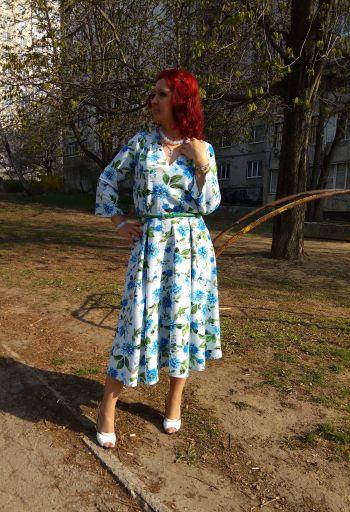 """Сукня """"Дівчинка-весна"""" )))"""