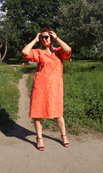 Сукня Мішочок із прошви
