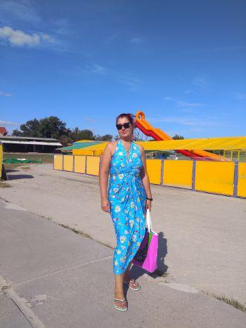 Пляжна сукня-трансформер