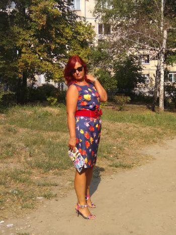 І знову 1 Вересня. Сукня