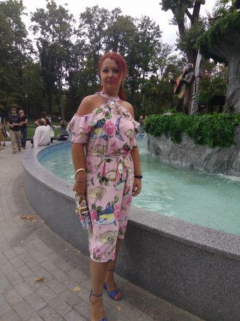 Сукня Рибки в трояндах