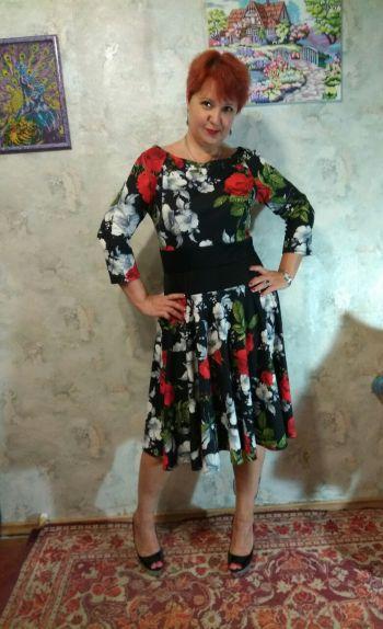 Сукня з колекції Колір ночи