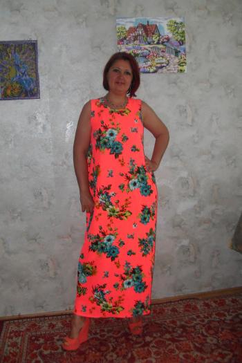 Неонова сукня
