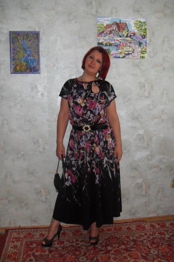 Сукня - весняні квіти