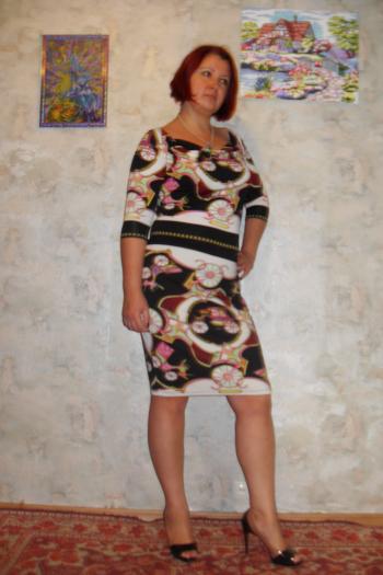 Сукня як з хусток