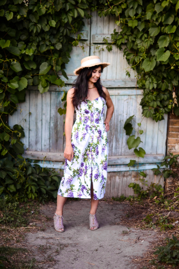 Сукня «Цвіт Гліциній» ІІ київський флешмоб