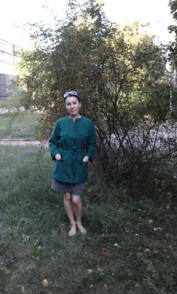 Зелений жакет