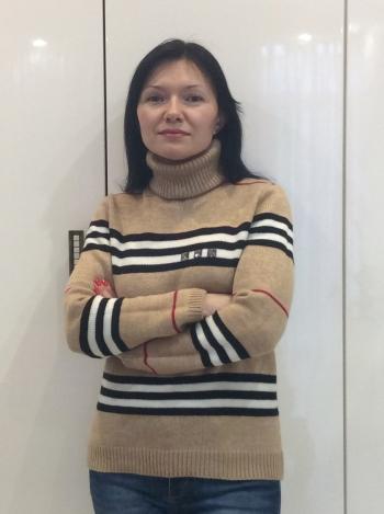 Пуловер в стиле burberry