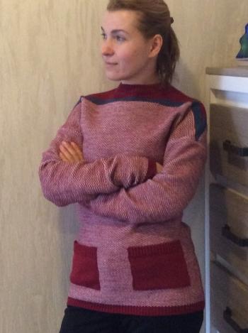 Пуловер для подорожей