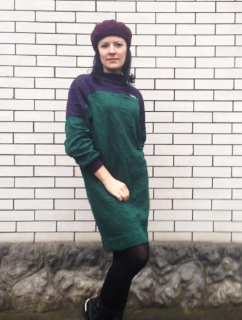 Сукня-пуловер