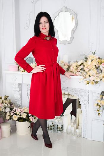 Перший Київський Флешмоб «Lady in red»