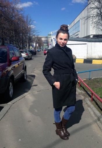 Яскраве пальто для яскравої дівчини 8/2012 № 101В